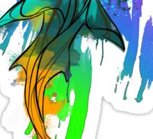 Watercolor Shark Sticker