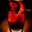 Glass of Red Passion by Apostolos Mantzouranis