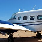 1956 Beechcraft M18 Airplane by aprilann