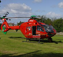 North Wales Air Ambulance at Nefyn by trevorh