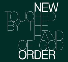 New Order Touched by the Hand of God shirt by Shaina Karasik