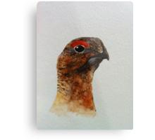 Grouse Watercolour Design  Metal Print