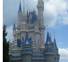 Disney Castle by LookItsHailey