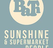 Sunshine & Supermarket People - EP Release Merchandise by Bath