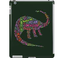 Vegan Dinosaur iPad Case/Skin