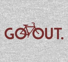GO OUT (Red) by ONE WORLD by High Street Design