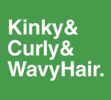 Curly Hair & Kinky Hair & Wavy Hair by Sofia Black