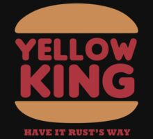 Yellow King Rust Logo by Prophecyrob