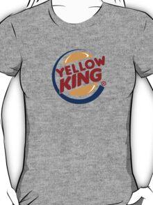 Yellow King Logo 2 T-Shirt
