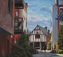 Southampton Medieval Merchant House from High st by martyee