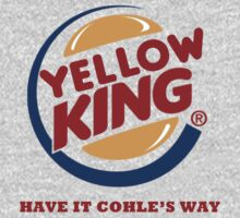 Yellow King Cohle Logo 2 by Prophecyrob