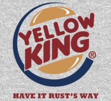 Yellow King Rust Logo 2 by Prophecyrob