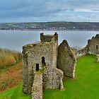 Llansteffan Castle by Paula J James