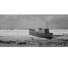 Boat near Highbridge. by Antony R James