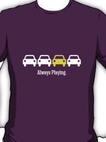 Cabin Pressure - Always Playing Yellow Car T-Shirt