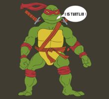 """I Is Turtlin'!"" - Ali G/ Leonardo (Mutant Ninja Turtles) by appfoto"