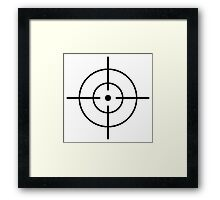 Crosshair Framed Print