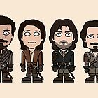 The Musketeers (card) by redscharlach