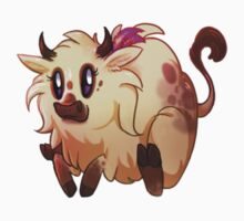Ayasha Fluffalo Sticker by Eleanor Appreciates