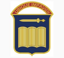 420th Infantry Regiment - Ubique Impavidi - In All Things Undaunted by VeteranGraphics