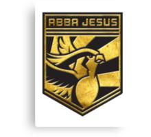 """ABBA JESUS!"" Twitch Plays Pokemon Merch! Canvas Print"