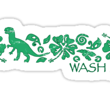 Wash Lives Sticker