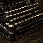 Remington Standard Typewriter No.10  by Fotomus-Digital