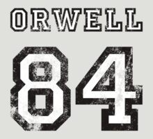George Orwell 1984 (age-worn) by 3coo