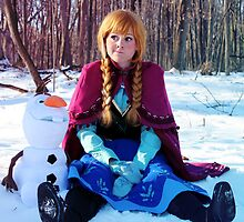 Frozen - Anna 002 by Courtoon