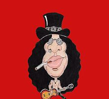 Classic Rock 80's 90's Funny Caricature by MMPhotographyUK