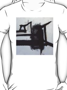 Busy Bees - New Black White Abstract Stylish Fine Art T-Shirt