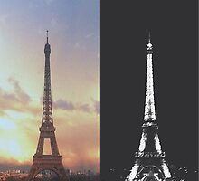 Eiffel Tower  by cali4niakid