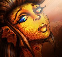 Creature Feature: The Golden Koi by Vestque