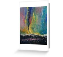 Arctic Lights Greeting Card