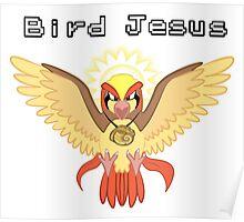 Bird Jesus - Twitch Plays Pokemon Poster