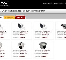 Various Types of IP Cameras, Analog Camera, DVR/NVR by DviewCCTV