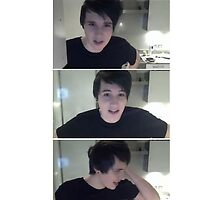 Dan Howell phone case by d-aisy