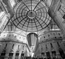 Galleria Vittorio Emanuelle 11, Milan, Italy.  by Stephen Knowles