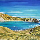 Lulworth Cove by Annie Lovelass