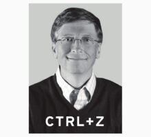 Bill Gates Ctrl + Z by 3coo