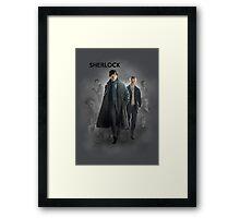 BBC Sherlock Framed Print