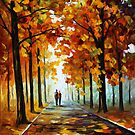 BRONZE FALL by Leonid  Afremov
