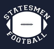 Statesmen Football Jersey Logo - 22 Jumpstreet Channing Tatum Jonah Hill  by erikaandmonty