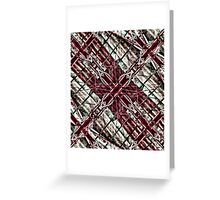 Mystic Cross Artwork Greeting Card