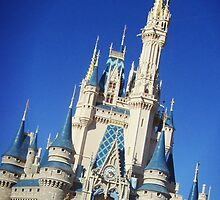 Cinderella Disney Castle by Hunaaa