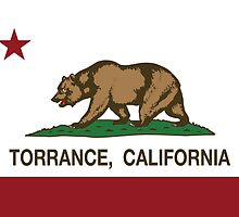 Torrance California Republic Flag by NorCal
