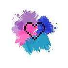 8-bit Heart by RoomWithAMoose