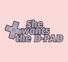 She wants the d pad  by Boogiemonst