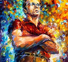 James Dean by Leonid  Afremov