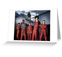 Misfits Poster Greeting Card